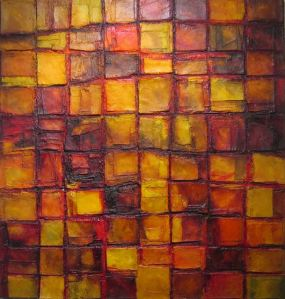 Yellow Earth, 2007. Oil on Canvas, 140 x 120cm