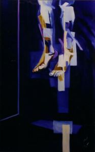 Still Life, 2003, Oil on Canvas, 120 x 84cm, M. Moorecroft, London