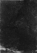 Walking in the dark VI. monoprint on tissue. 21 x 30 cm
