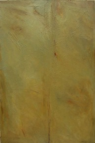 Scratching the facade, 2005. Oil on canvas. 120 x 80 cm