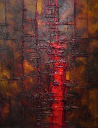 Enough Said, 2007. Oil on Canvas. 140 x 180 cm