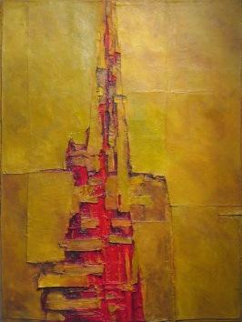 Wound, 2007. Oil on Canvas, 120 x 90 cm.