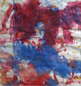 Hannah, Acrylic painting , 30x30cm.