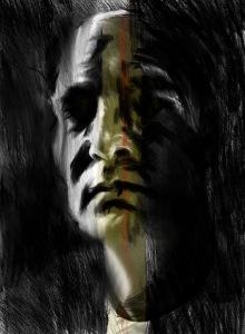 """Greg shaw, 2013. """"Day 75"""". Digital drawing, 1408 x 1920px."""