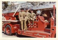 1961 Salisbury Fire Brigade, Mervyn 2nd from right